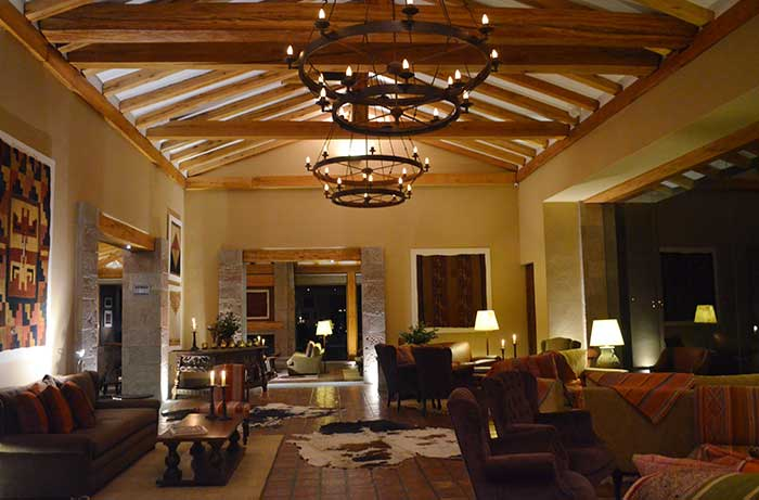 Stylish stay room at Inkaterra Urubamba in the Sacred Valley Cusco