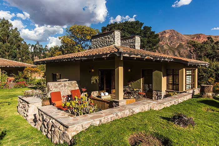 Casita (house) with private porch including Jacuzzi at Sol y Luna Hotel in the Sacred Valley of Cusco