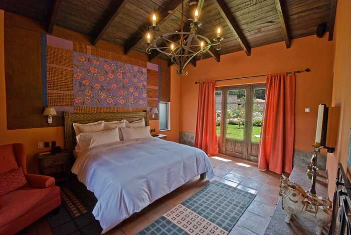 Casita Premium with King size bed at Hotel Sol y Luna Sacred Valley