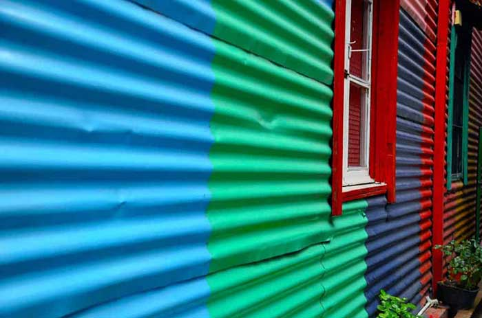 72 Hours in Buenos Aires - Colorful houses in La Boca